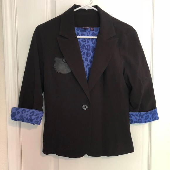 af642d431 Hello Kitty Jackets & Coats   Black Blazer   Poshmark